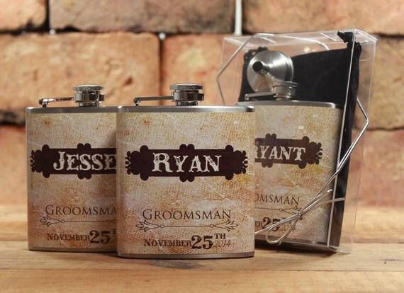 Wedding Gifts For My Groomsmen : Rustic Weddings, Groomsmen Gifts for Outdoor Weddings, Set of 5 ...