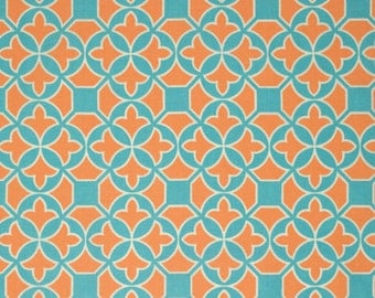 Trellis in Carrot (pwjd101) - FLORA - Joel Dewberry  - Free Spirit Fabric - By the Yard