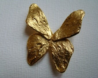 YSL Yves Saint Laurent Brooch Butterfly