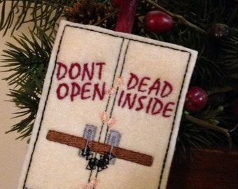 Zombie Christmas Ornament