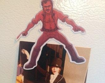 Jaws Quint Wolverine Refrigerator Magnet