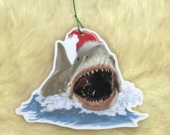 Quint Jaws Ornament Christmas