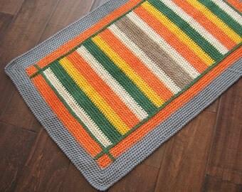 Small Rectangular Rug / Floor Mat 35x21