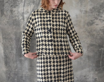 1950s Houndstooth Ladies Suit
