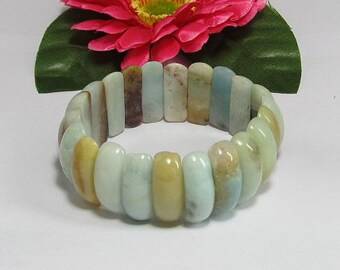 Amazonite Beads stretchy Bracelet