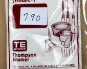 790 IMPERIAL BLUE - 8 oz Dry Powder Form Liquid Enamel