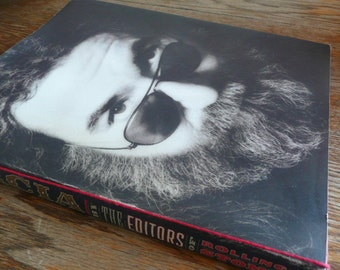 First Edition GARCIA by The Editors of Rolling Stone - a tribute to Jerry Garcia