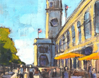 San Francisco Painting - Ferry Building