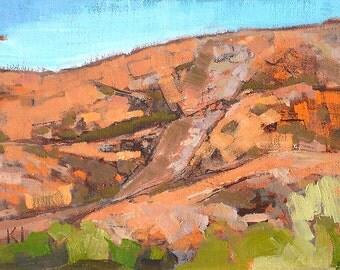 Mission Trails, San Diego Landscape Painting