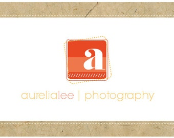 PreDesigned Logo - PreMade Logo - Vector Logo - Monogram Logo - AURELIA Logo Design