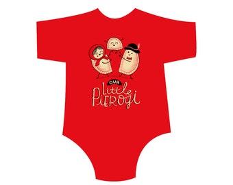 Our Lil' Pierogi! Toddler Shirt/Onesie