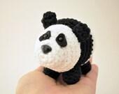 Crochet Pattern, Amigurumi Pattern, Amigrumi Doll, Panda Crochet Pattern, Panda Pattern, Panda Bear Amigurumi Pattern, Easy Crochet Pattern