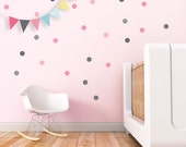 Nursery Wall Decal Confetti Wall Decal Dots Stickers Green Circle Stickers Kids Wall Decal Boy Room Decor. Confetti Children Wall Decal