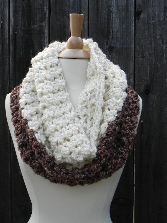 DIY CROCHET KIT, Chunky Cowl Crochet Pattern, Crochet Scarf pattern ...