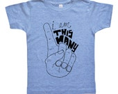 I Am This Many Kids Birthday Shirt - One Two Three Four Fingers - Boys or Girls Funny Birthday Shirt - Baby & Toddler - I'm This Many