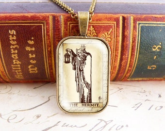 The Hermit - Tarot Necklace