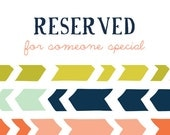 Custom listing for ashlirobinson - 30 - Cellophane Treat Bags and 24 2x2 inch tags both with Chevron Design in Navy