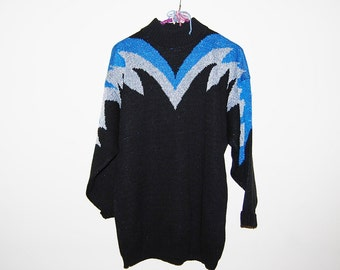 Vintage Sweater Space Age Hipster Jetsons