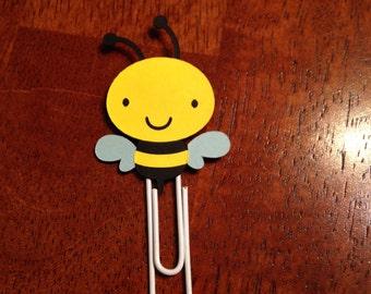 Little Bee bookmark paper clip