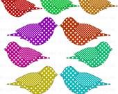 Bird Clip Art Digital Scrapbooking Commercial Use - Instant Download  - DP289