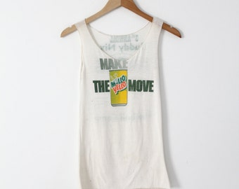 vintage Mello Yello tank top, Buddy Nix football camp t-shirt