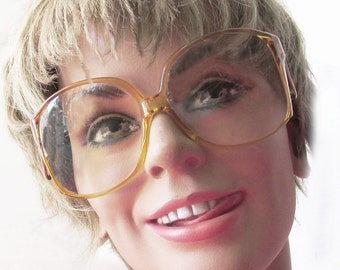 1980s West German ZEISS Amber frames