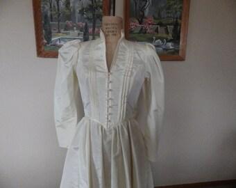 Amazing Jessica McClintock Gunne Sax Renaissance Faire Gothic Dress