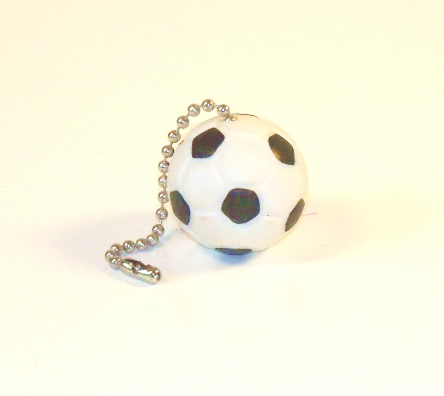 Soccer Ball Ceiling Fan Lamp Pull Chain Coaches Gift Gift for