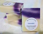 Lavender Vegan Olive Oil Soap  - Organic Ingredients