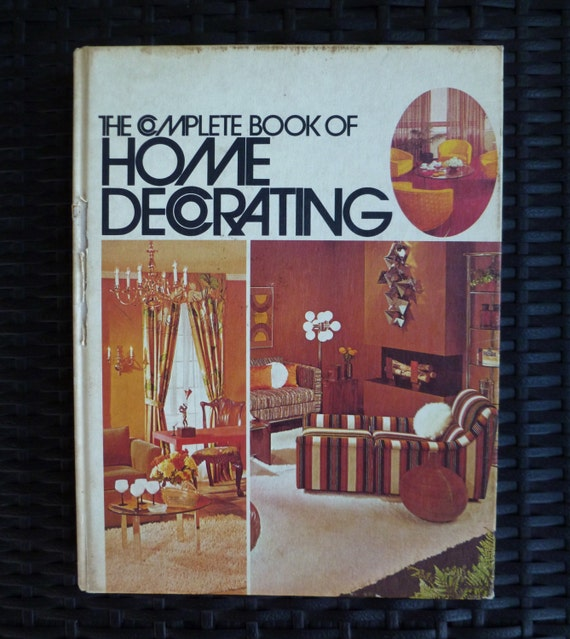 Home decorating book vintage 1960s 1970s by for Home decor 1970s
