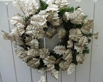 Christmas Wreath    Christmas Decor   Wreath   Holiday Wreath  Christmas Gift  Faux Wreath  Door Wreath  Holiday Gift  Wreath