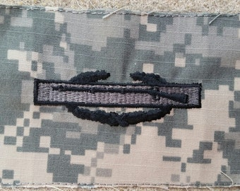 Combat Infantry Badge (CIB), US Army Military ACU Patch