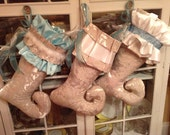 SOLD/ Custom Collection of Fabulous Holiday Stockings