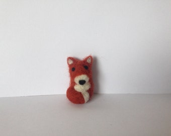 Mini Felted Fox