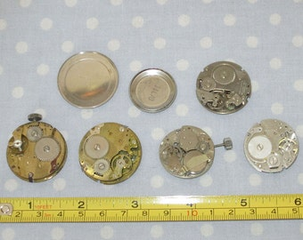 Antique Watch Parts Face Jewelry Supplies (FF)
