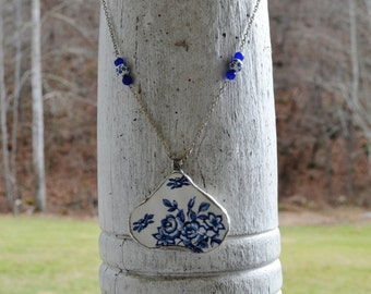 Broken China Plate Necklace