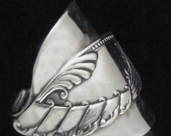 Spoon Ring, Swedish Whole Spoon Ring, Silverware Jewelry, size 10