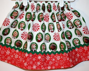 Clearance Elf Skirt   Size 2 to 7