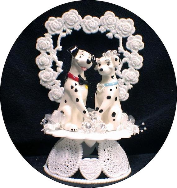 Wedding Cake 101 An Introduction To Wedding Cakes: Items Similar To Disney 101 Dalmatian Dog Wedding Cake
