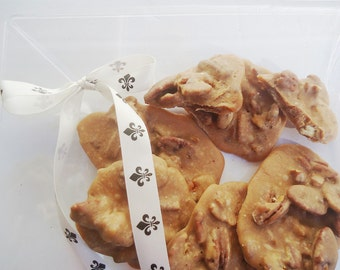 Pecan Pralines ONE LB - Ken's Airy Crunch Homemade Pralines Candy Bag