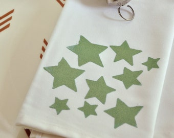 Falling Stars Christmas Stencils for DIY Holiday Crafts and Painting Furniture and Fabric