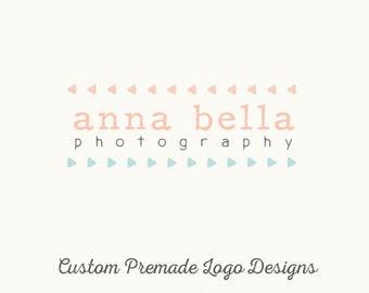 Custom Logo Design - Premade OOAK - Anna Bella