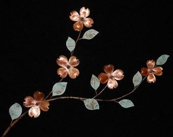 Copper Dogwood Branch