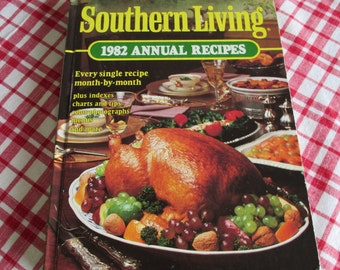 Vintage Southern Living 1982 Annual Recipes