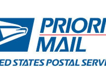 Shipping Upgrade to Priority Mail - Small Box or Envelope
