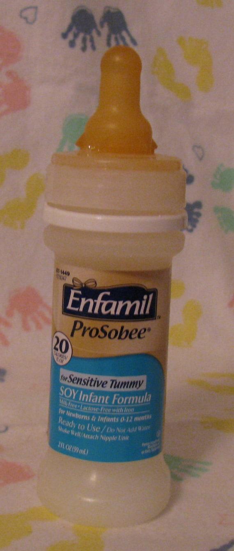 Reborn 2Oz Faux Fake Hospital Enfamil Prosobee Soy Sensitive-6225