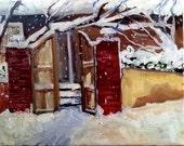 Fresh Snow - an original fine art painting