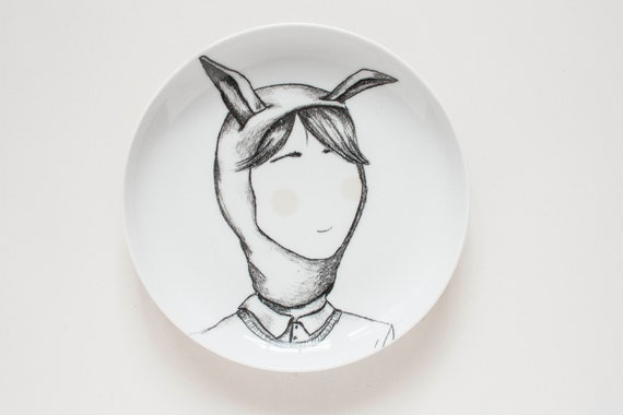 Hare boy - Carnival Collection - Plate