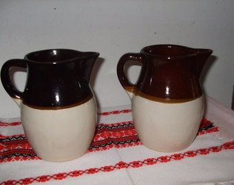 Roseville/R.R.P. Pottery Co. Pitchers