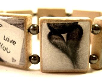 Love Scrabble Bracelet